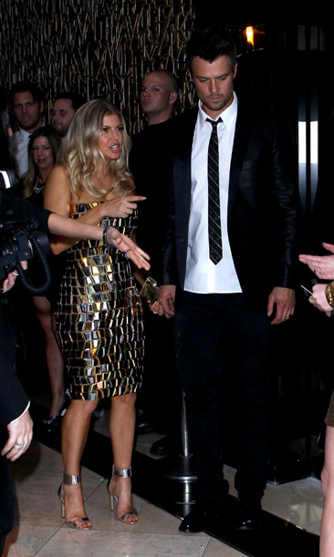 Fergie and Josh Duhamel celebrate NYE in Las Vegas