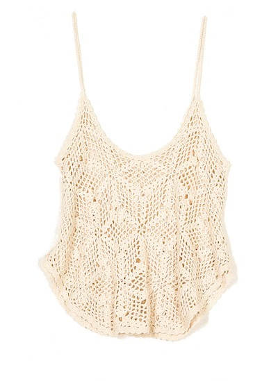 Lace tank