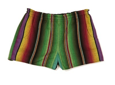 Navajo striped shorts