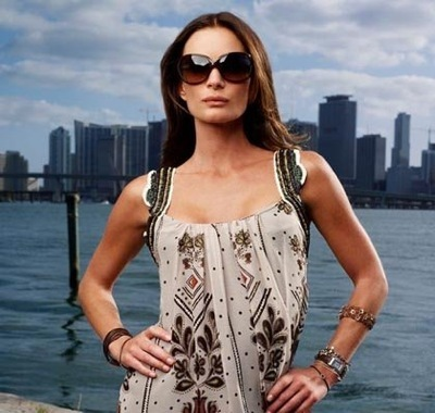 Gabrielle Anwar as Fiona Glenanne in Burn Notice