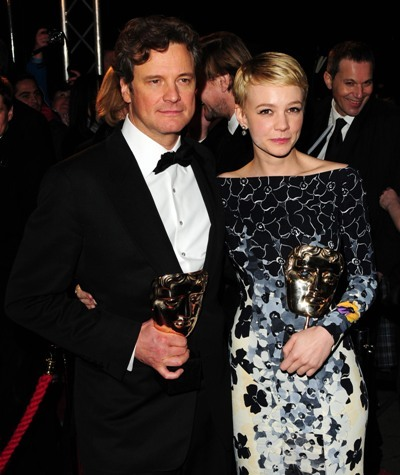 Colin Firth and Carrie Mulligan