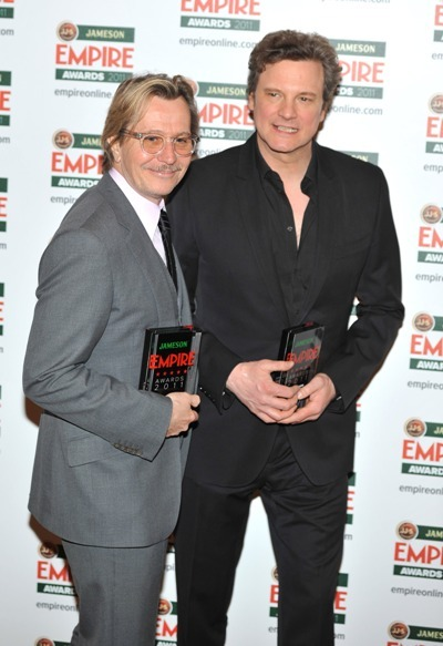 Colin Firth and Gary Oldman take over the Empire