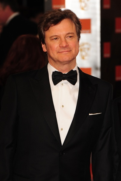 Colin Firth attends the BAFTAs
