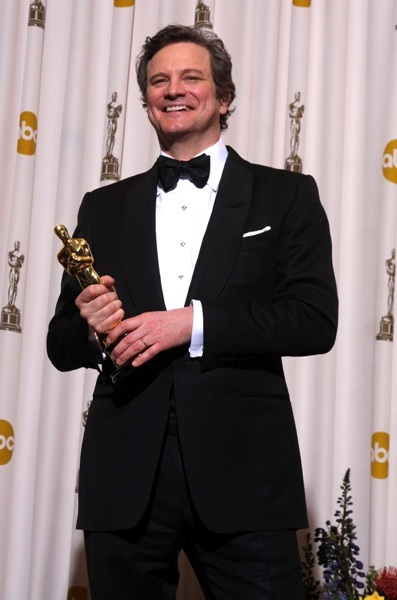 Colin Firth lights up the room