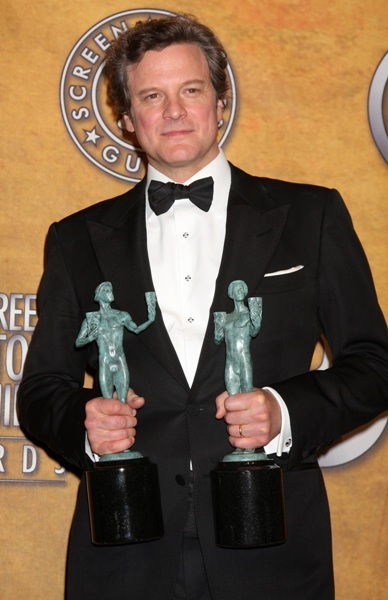 Colin Firth wins big at the SAGs
