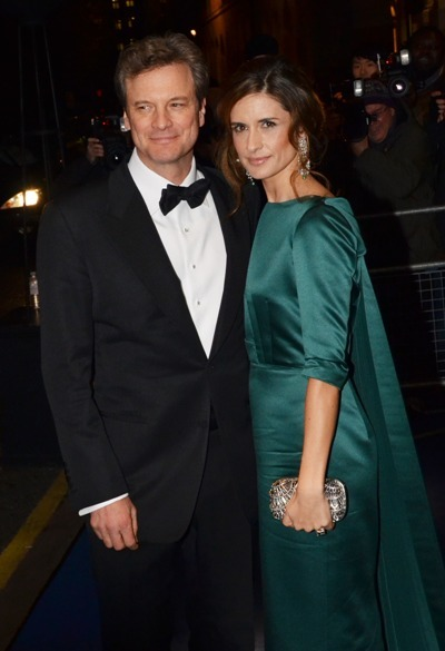 Colin and Livia Firth at the Birtish Fashion Awards