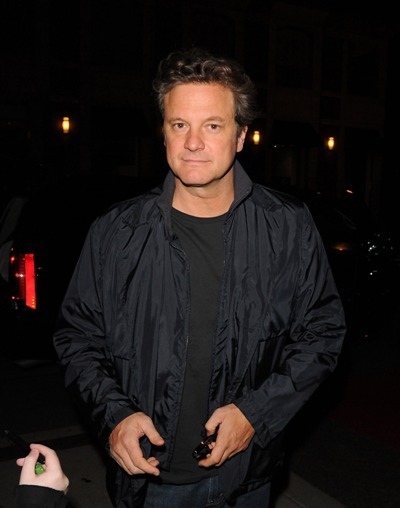 Colin Firth out in Toronto
