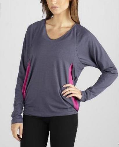 Oversized Yoga top