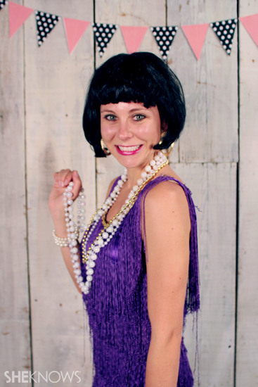 Halloween costume ideas: Flapper