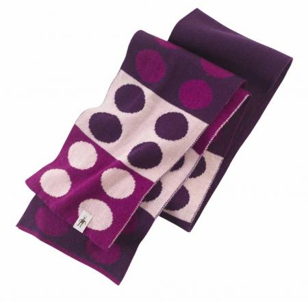 Flecker Polka-Dotted Scarf