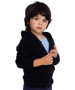 Fleece zip-up hoodie