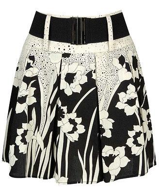 Floral Dream Skirt w/ Belt
