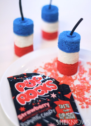 Firecracker cakelette tutorial