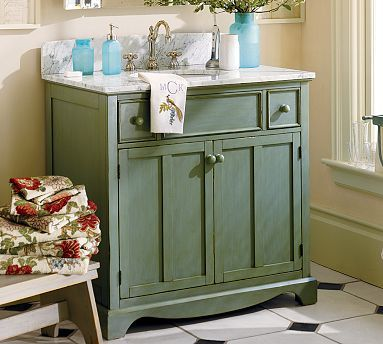 French Country - Bathroom decorating ideas