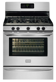 Self cleaning range & oven