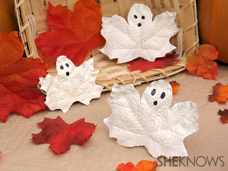 Creep cute leaf ghosts