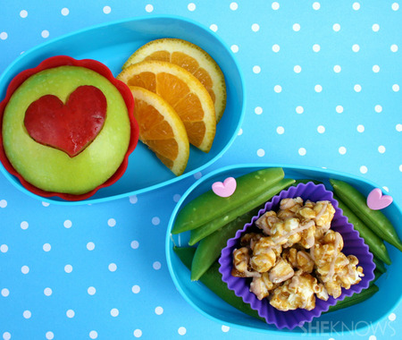I Love Fruit and Vegetables bento box lunch