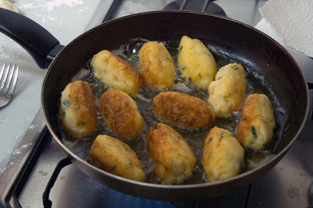 Italian fried smelts (cod)