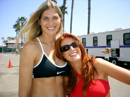 Gabrielle Reece and Angie Everhart