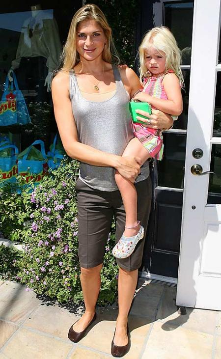 Gabrielle Reece and her Daughter