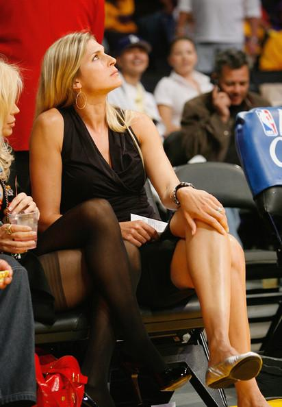 Gabrielle Reece at the Laker Game