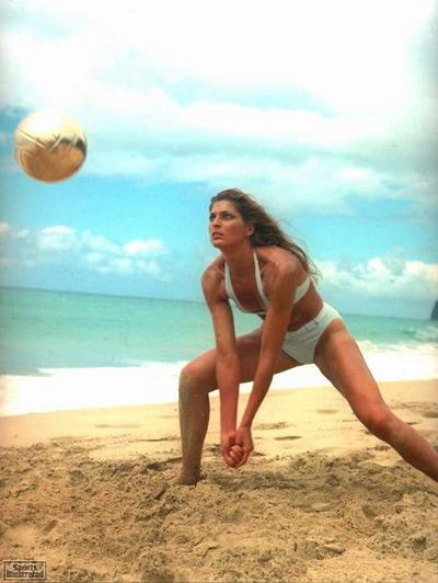 Gabrielle Reece on the Sand