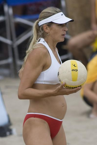 Gabrielle Reece Pregnant and Playing