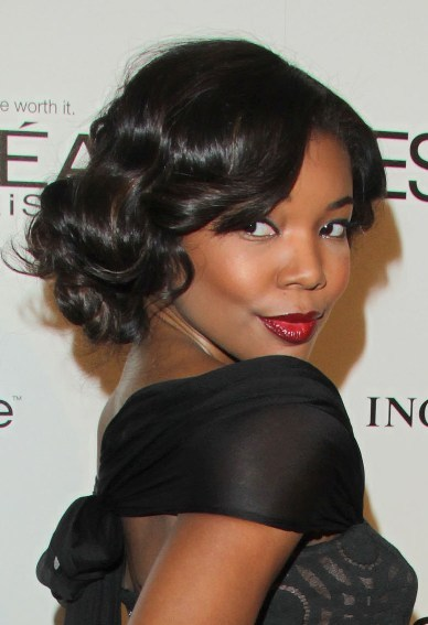 Gabrielle Union's Retro Glam Look