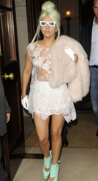 Lady Gaga's updo