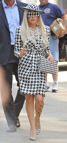Lady Gaga from head to toe