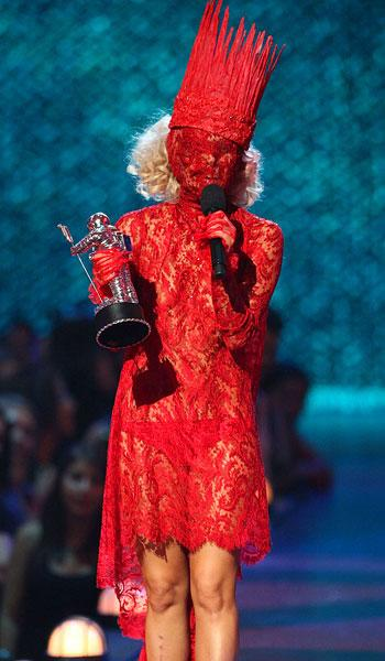 Lady Gaga at the 2009 VMAs