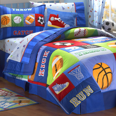 Boys Bedroom Bedding on Game On Bedding Set   Boys  Bedroom Ideas