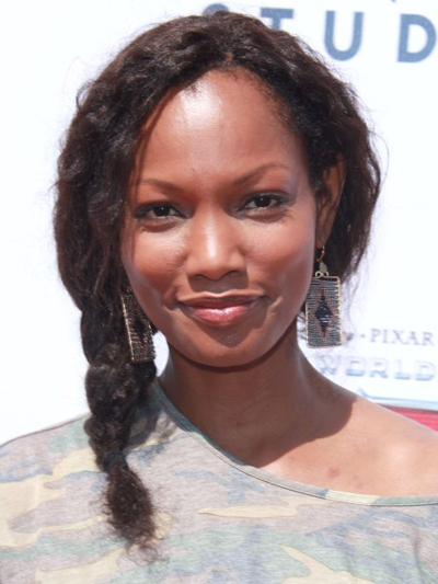 Garcelle Beauvais' fun, braided hairstyle