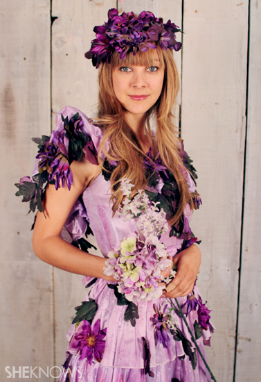 Halloween Costume Ideas: Garden Fairy