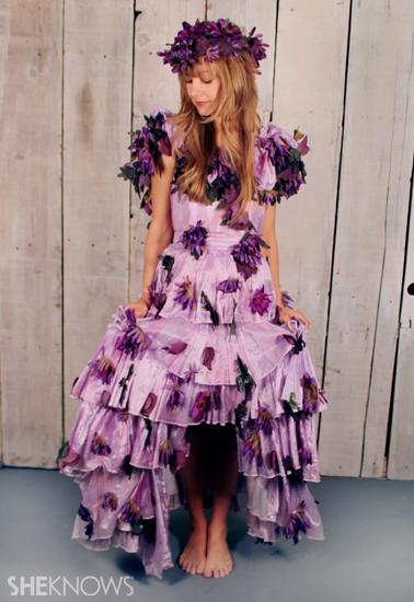 Halloween Costume Ideas: Garden Fairy