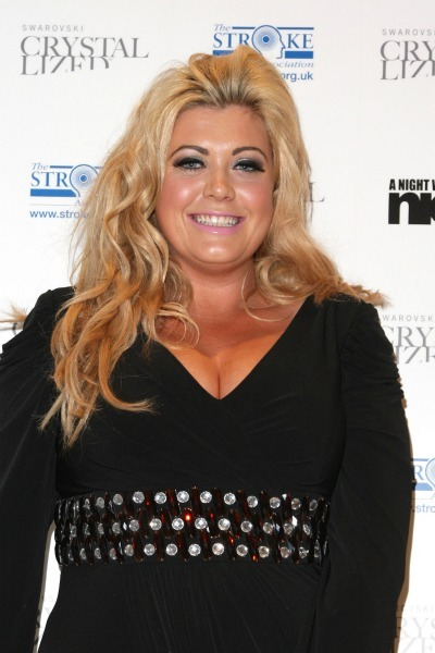 Gemma Collins' backward curls