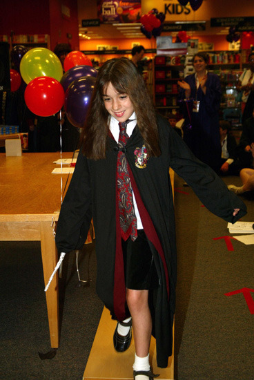 Harry Potter Gallows Party at Borders in Washington, D.C.
