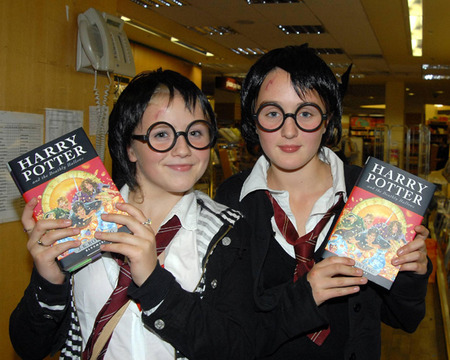 Harry Potter and the Deathly Hallows book release at Eastons Book Store in Dublin, Ireland