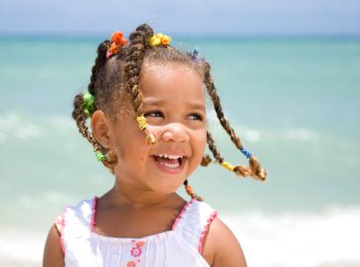 braided hairstyles for girls. Girls hair - Multiple raids