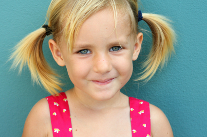 Girls hair - Perky Pigtails