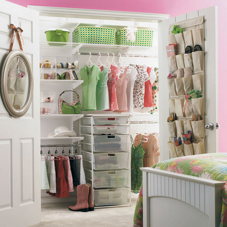 Girls&#039; Reach In Closet