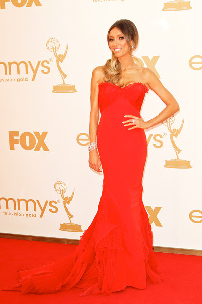 Giuliana Rancic at the Primetime Emmy Awards