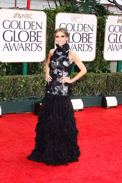 Giuliana Rancic at the Golden Globe Awards