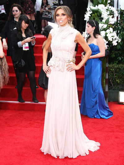 Giuliana Rancic at the 69th Annual Golden Globes