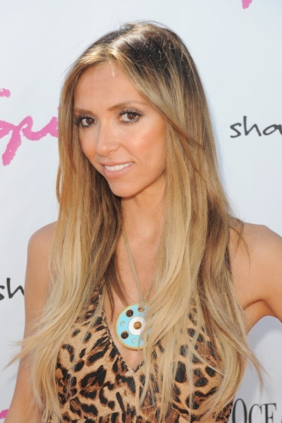Giuliana Rancic's super long hairstyle