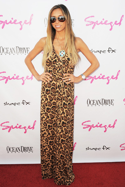 Giuliana Rancic at the Ocean Drive Magazine Party