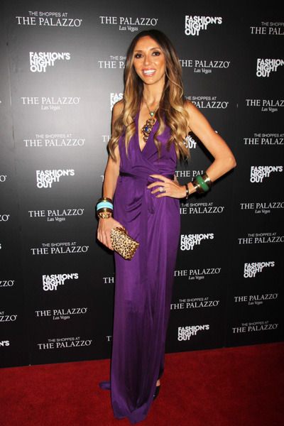 Giuliana Rancic at The Palazzo Resort and Casino