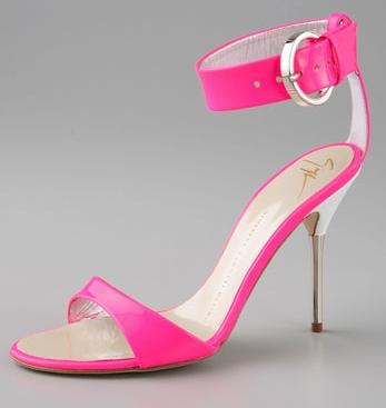 Giuseppe Zanotti Neon Sandals