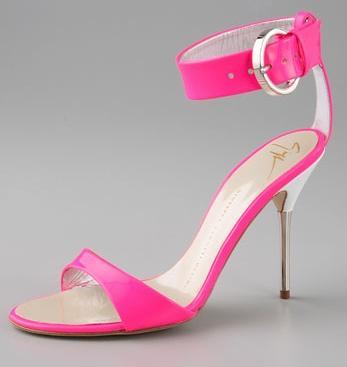 Giuseppe Zanotti Neon Sandals