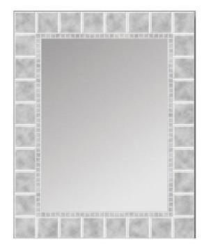 Glass Block Mirror
